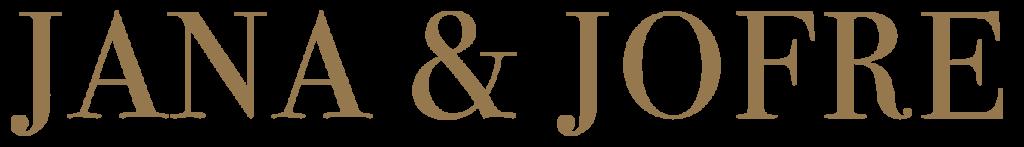 Logo jana & jofre