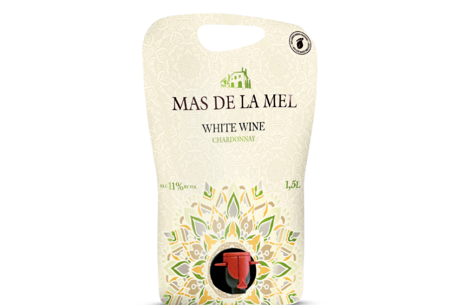 Vino tinto merlot Jana de Mar formato pouch